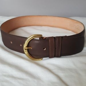 Coach leather belt - small
